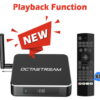 New OctaStream with Playback Function