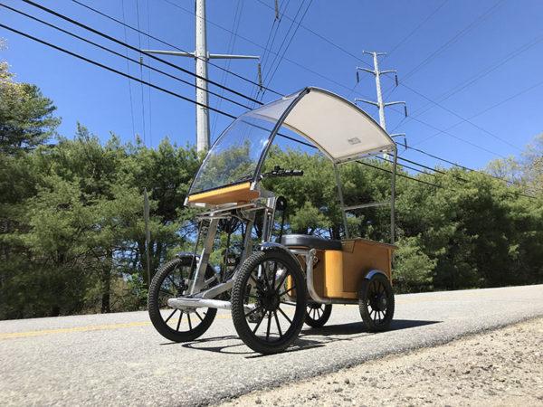 Solar Vehicle Solar Bike